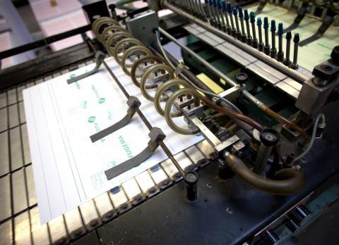 Drucken von A4 Formularen