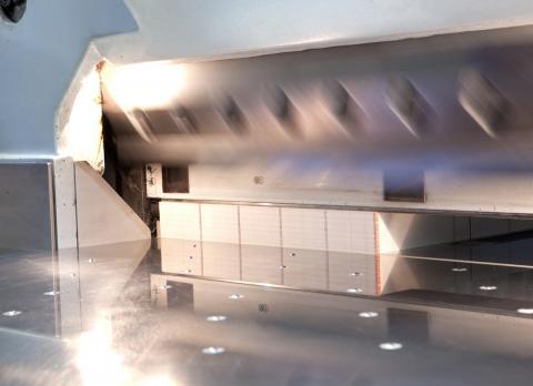 Druckverarbeitung bei Ebeling Drucke