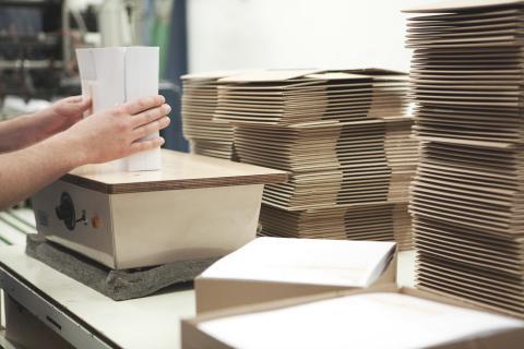 Verarbeitung von gedruckten Formularen