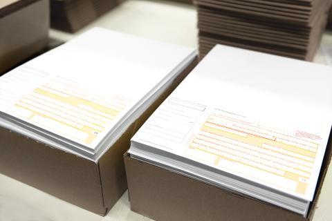 Spendenzahlschein gedruckt bei Ebeling Drucke